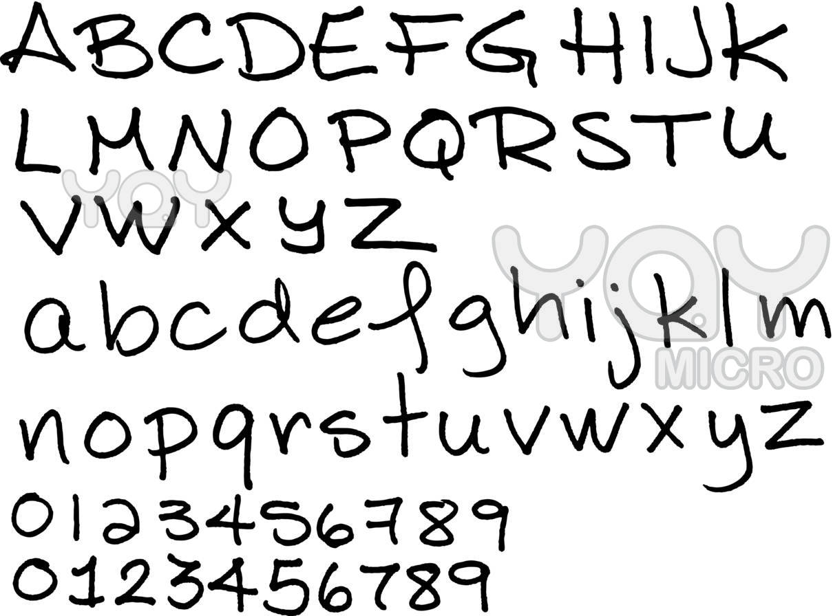 Pretty Handwriting Font The Image Kid